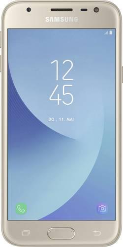 Dual-SIM smartphone 5  Samsung Galaxy J3 (2017) 16 GB Guld