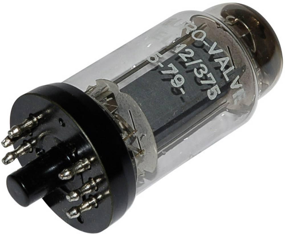 Elektronka EL 12/375 končna pentoda 250 V 72 mA št. polov: 8 podnožje: Y8A