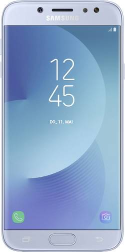 Dual-SIM smartphone 5.5  Samsung Galaxy J7 (2017) Duos 16 GB Blå
