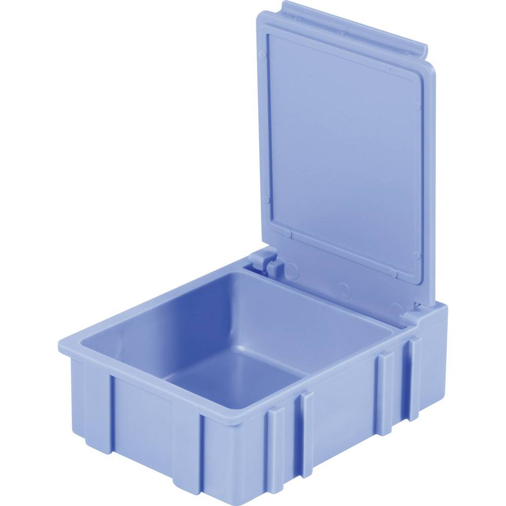 SMD škatla, modra, barva pokrova: modra 1 kos (D x Š x V) 41 x 37 x 15 mm Licefa N32288