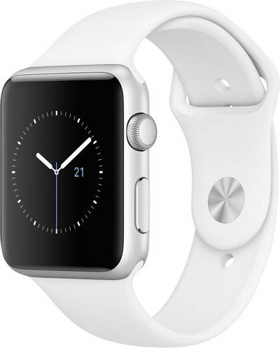 Apple Watch Sport Series 1 42 mm Aluminium Silver cheapest retail price