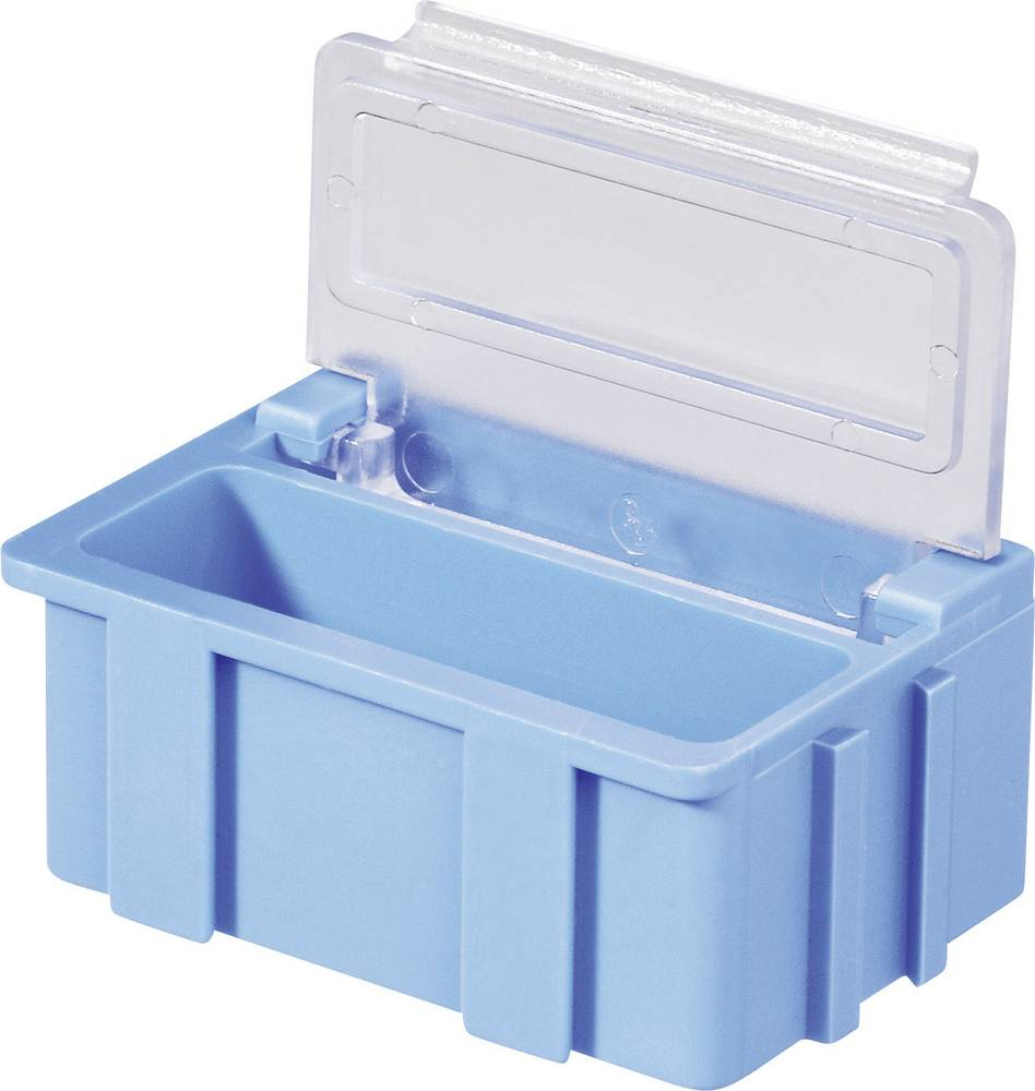 SMD škatla, bela, barva pokrova: prozorna 1 kos (D x Š x V) 37 x 12 x 15 mm Licefa N22321