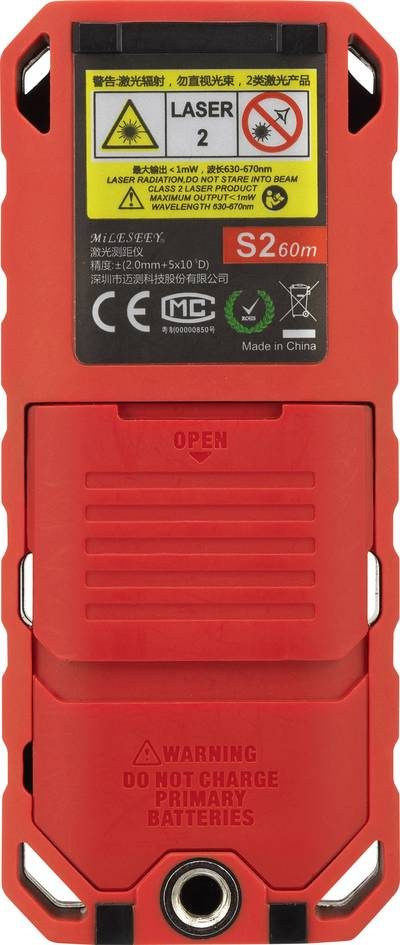TOOLCRAFT TO-LMD X60 Laser range finder Reading range (max.) 60