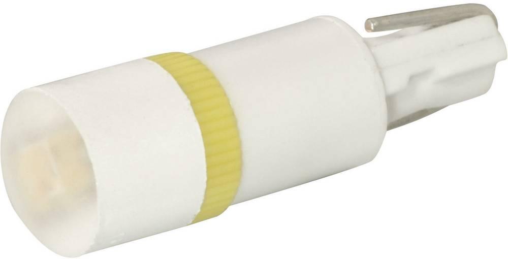 LED-diode Signal Construct W2 x 4,6d 12 V/DC, 12 V/AC 650 mcd Grøn