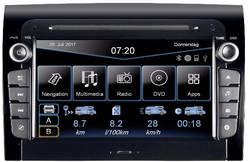 ESX VN720-FI-DUCATO Navigationsenhed, fastmontering Tilslutning til ratbetjening, Håndfrit Bluetooth®-system