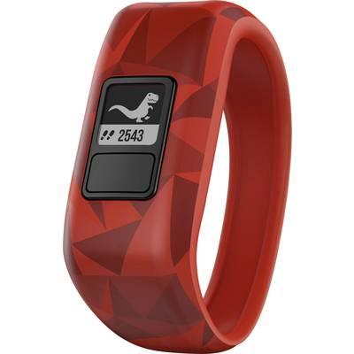 Garmin vivofit jr. Broken Lava Gr. M Fitness tracker M Red, Black