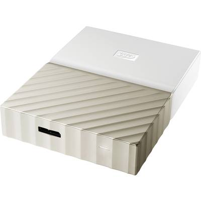 Western Digital My Passport™ Ultra 2.5″ external hard drive 2 TB White/gold USB 3.0