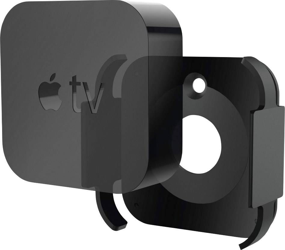 Hama Holder for Apple TV 4  Generation + Apple TV 4K