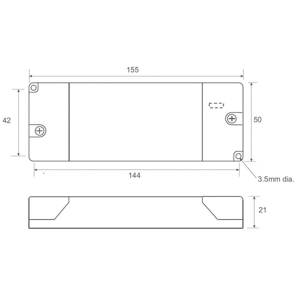 LED napajalnik s konstantnim tokom 20 W 700 mA 34 V/DC Recom Lighting RACD20-350D delovna napetost maks.: 264 V/AC