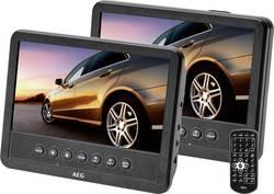 Nakkestøtte DVD-afspiller med 2 skærme AEG DVD 4555 Skærmstørrelse=17.5 cm (7 )