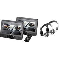 Nakkestøtte DVD-afspiller med 2 skærme AEG DVD4556 Skærmstørrelse=22.86 cm (9 )