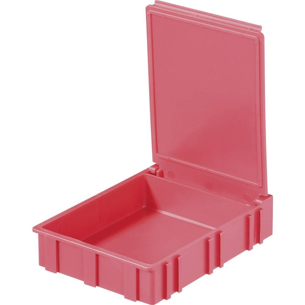 SMD škatla, rdeča, barva pokrova: rdeča 1 kos (D x Š x V) 68 x 57 x 15 mm Licefa N42266
