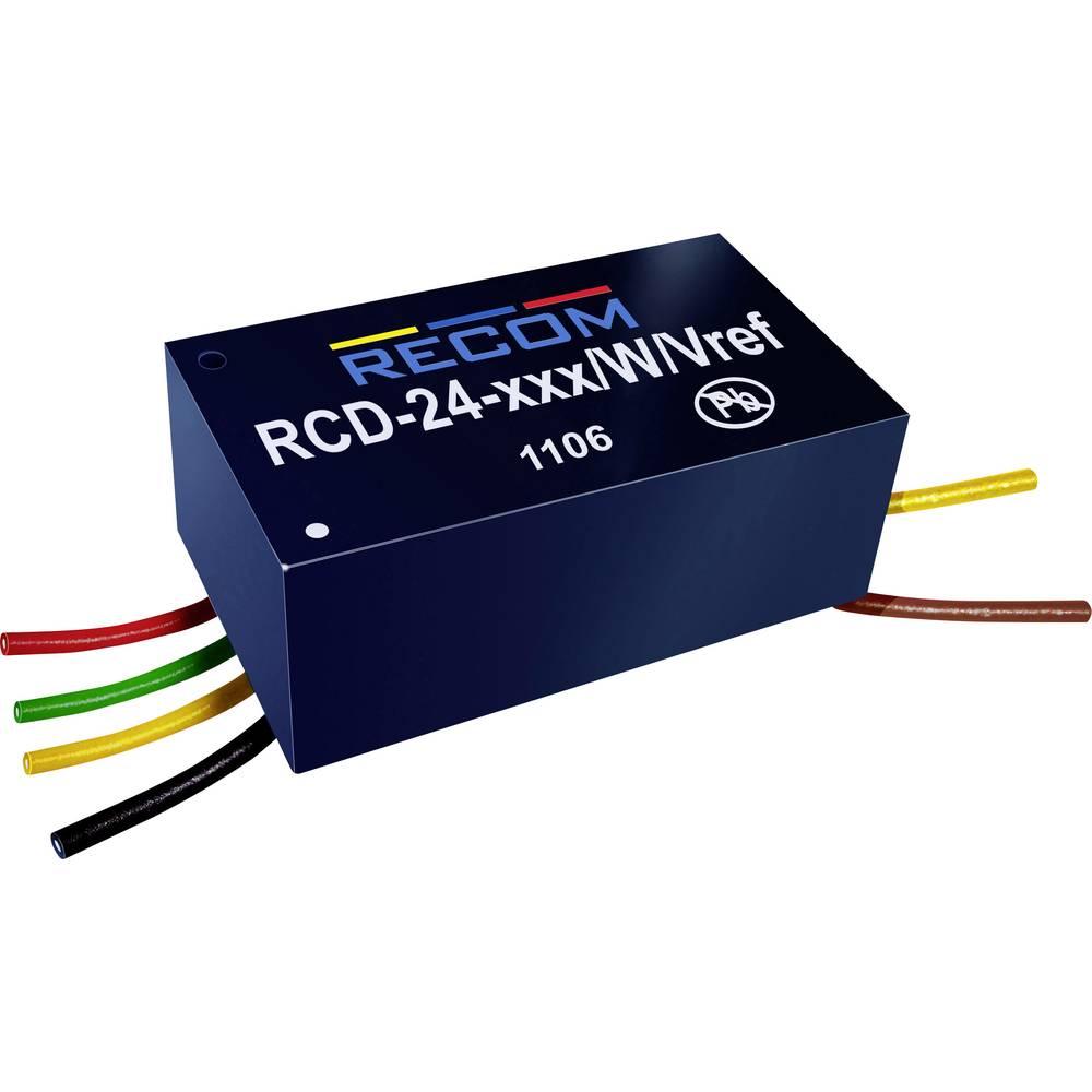 LED-driver 36 V/DC 350 mA Recom Lighting RCD-24-0.35/W/Vref