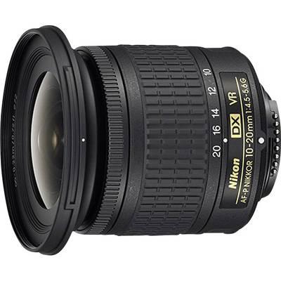 Wide-angle Nikon AF-P DX NIKKOR 10–20 mm 1:4,5–5,6 G VR f/22 – 29 10 – 20 mm