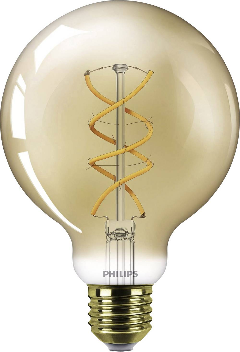 LED Globform E27 Philips Lighting Filament 5 W 250 lm A Guld 1 st