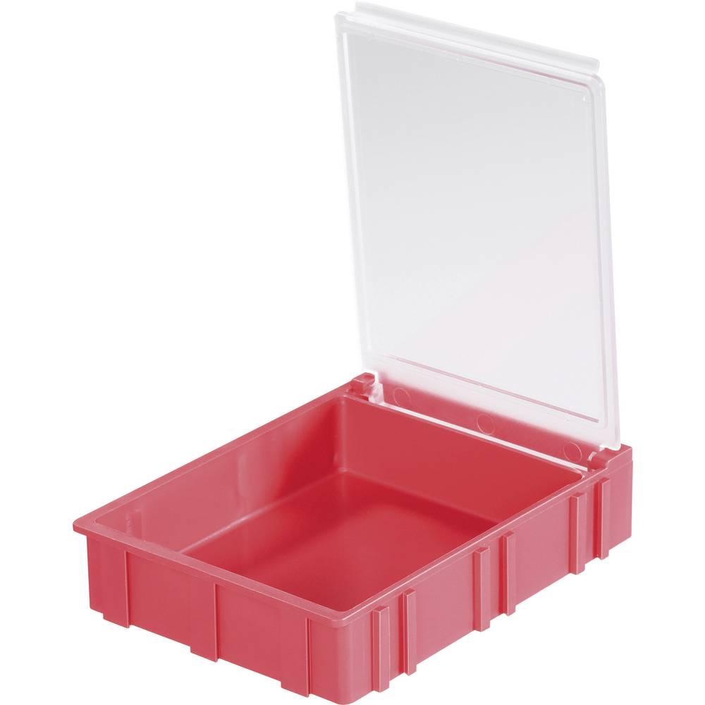 SMD škatla, zelena, barva pokrova: prozorna 1 kos (D x Š x V) 68 x 57 x 15 mm Licefa N42371