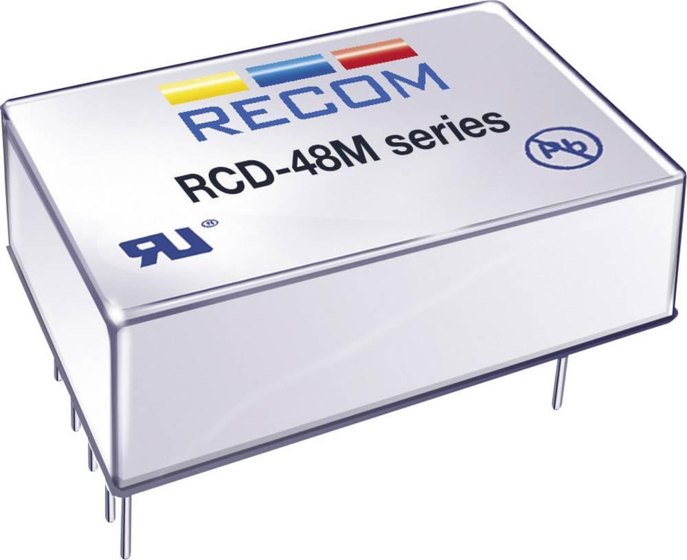 LED-driver 1200 mA 56 V/DC Analog dæmpning, PWM-dæmpning Recom Lighting RCD-48-1.20/M Driftsspænding maks.: 60 V/DC