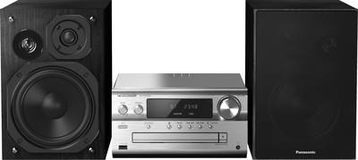 Image of Panasonic SC-PMX84EG-S Audio system Bluetooth, DAB+, CD, FM, USB, High-res audio 2 x 60 W Black/silver