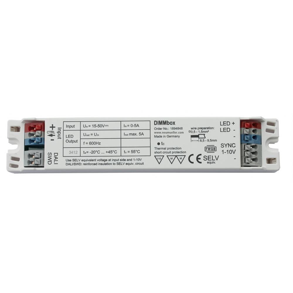 LED zatemnilnik 5000 mA 50 V/DC DIMMbox delovna napetost maks.: 50 V/DC