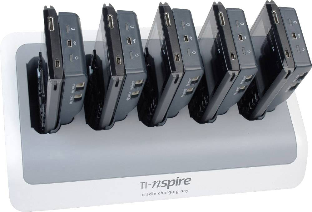 Texas Instruments TI-Nspire Lab™ Cradle Pack of 5 measured
