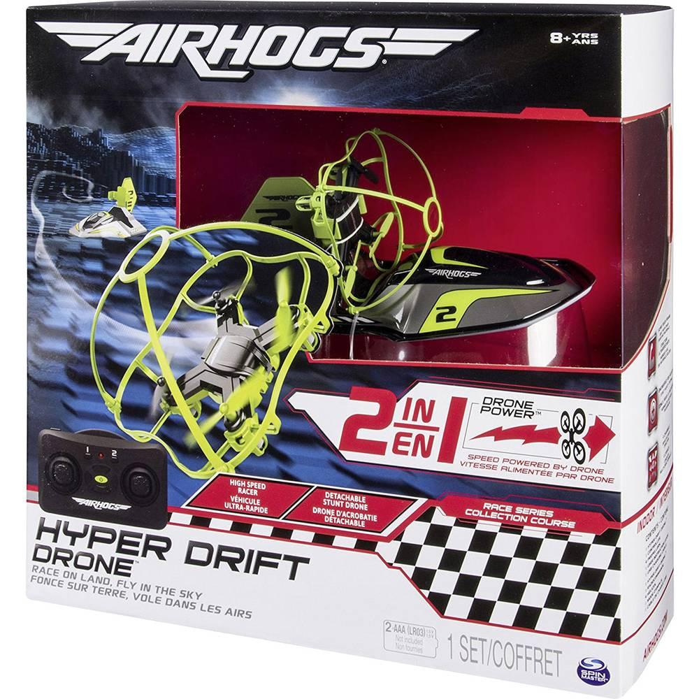 Air Hogs Hyper Drift Drone Hovercraft Race Copter RtF Beginner