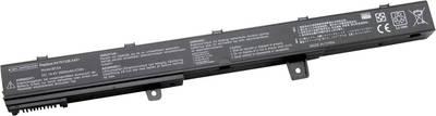 Image of Asus Laptop battery replaces original battery A41N1308 14.4 V 2600 mAh