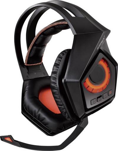 Image of Asus ROG Strix Wireless Gaming headset DECT, USB, 3.5 mm jack Cordless Over-the-ear Black