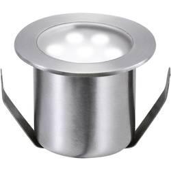 Udendørs LED-lampe til indbygning-basissæt Sæt med 4 stk. 2.4 W Dagslyshvid Paulmann 98868 Rustfrit stål