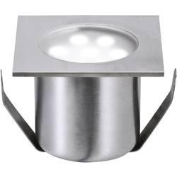 Udendørs LED-lampe til indbygning-basissæt 2.4 W Dagslyshvid Paulmann 98870 Rustfrit stål