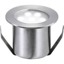 Udendørs LED-lampe til indbygning-udvidelsessæt 2.4 W Dagslyshvid Paulmann 98869 Rustfrit stål