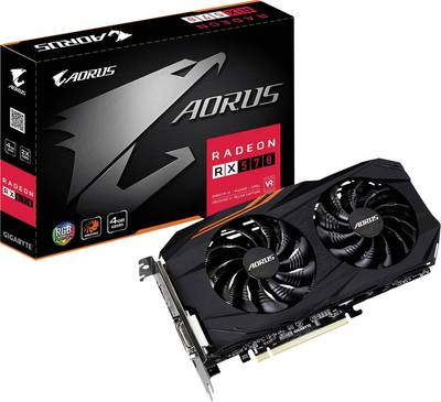 Compare retail prices of Gigabyte - AMD GV-RX570AORUS-4GD 4 GB PCI-E Graphics Card - DVI/DP/HDMI to get the best deal online