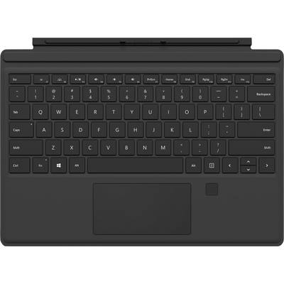 Image of Microsoft Surface Pro Keyboard FPR Tablet PC keyboard Compatible with (tablet PC brand): Microsoft Surface Go 2, Surface Pro (2017), Surface Pro 4, Surface Pro