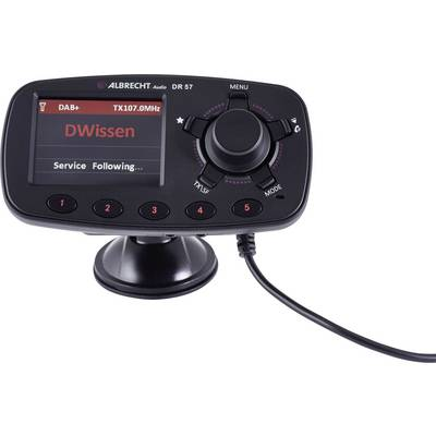 Albrecht DR57 DAB+ receiver Handsfree , Suction cup