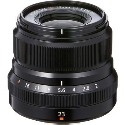 Wide-angle Fujifilm XF-23mm f/2 (min) 23 mm (min)
