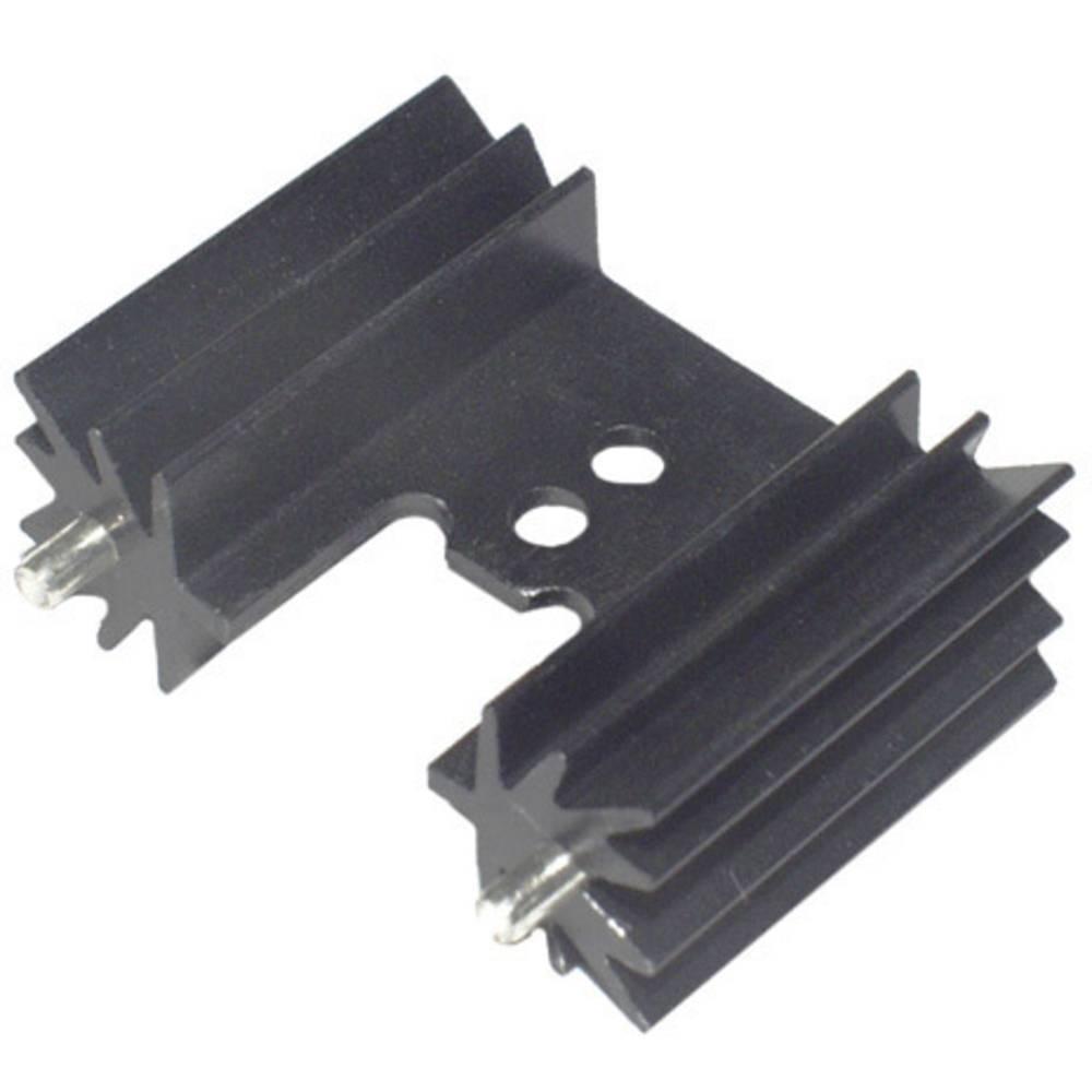 Profilno hladilno telo 14 K/W (D x Š x V) 25.4 x 35 x 12.7 mm TO-218 TO-220 TOP-3 SOT-32 TRU Components TC-KK7477W