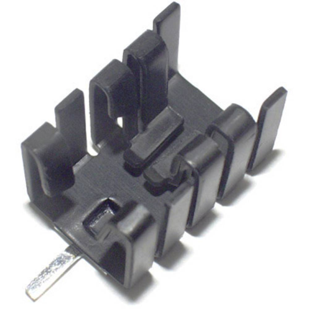 Hladilno telo 21 K/W (D x Š x V) 19 x 12.8 x 12.7 mm TO-220 TRU Components TC-KK8508B