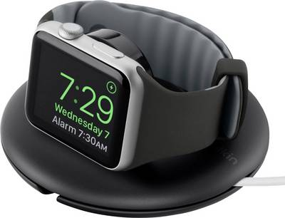 Belkin Travel Charger Stand For Apple Watch Series 1 and 2 38mm and 42mm - with NightStand Mode - Black cheapest retail price