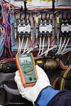 Compact HVAC True RMS MultiMeter with Built in NCV