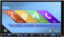Clarion NX706ECDAB Navigationsenhed, fastmontering Europa Integreret navigationssystem