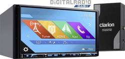 Clarion NX807EDAB Navigationsenhed, fastmontering Europa DAB+ tuner, Håndfrit Bluetooth®-system, AppRadio, Integreret navigation