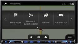 Clarion NX706EC Navigationsenhed, fastmontering Europa Integreret navigationssystem