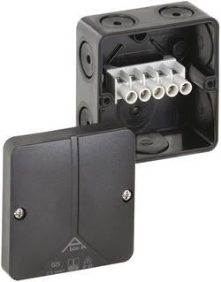 Forbindelsesdåse (L x B x H) 80 x 80 x 52 mm Spelsberg Abox-i 025-2,5²/sw Sort IP65