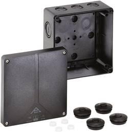 Forbindelsesdåse (L x B x H) 140 x 140 x 79 mm Spelsberg Abox-i 100-10²/sw Sort IP65