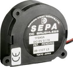 Radial ventilator 5 V/DC 3.7 m³/h (L x B x H) 44.5 x 18.5 x 42 mm SEPA TFB45A05