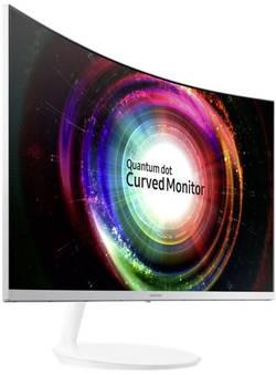 LED-skærm 68.6 cm (27 ) SamsungC27H711QATT.CALC.EEK C;2560 x 1440 pixWQHD4 msHDMI™, DisplayPortVA LED