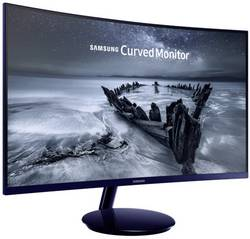 LED-skærm 68.6 cm (27 ) SamsungC27H580FDATT.CALC.EEK B;1920 x 1080 pixFull HD4 msVGA, DisplayPort, HDMI™, Audio, stereo (