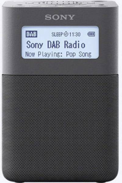 Image of Sony XDR-V20D DAB+ Radio alarm clock DAB+, FM, AUX Grey