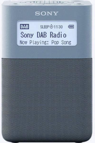 Image of Sony XDR-V20D DAB+ Radio alarm clock DAB+, FM, AUX Blue