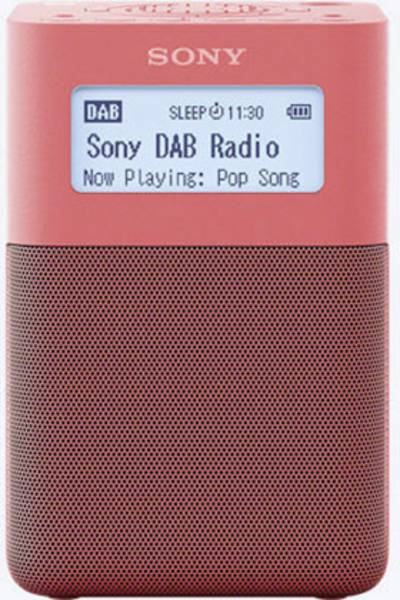 Image of Sony XDR-V20D DAB+ Radio alarm clock DAB+, FM, AUX Pink