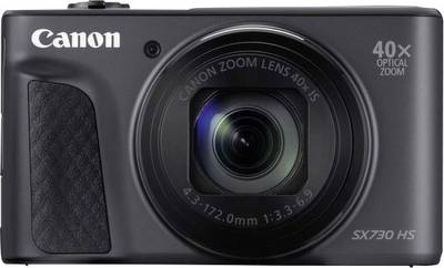 Image of Digital camera Canon SX730HS 20 MPix Optical zoom: 40 x Black Wi-Fi, Bluetooth, Full HD Video